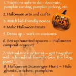 COVID-19 Child-Friendly Halloween Activities
